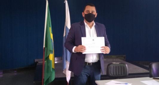 Diplomação de Igor Pereira (Foto: Aldir Sales)