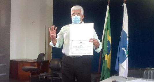 Diplomação de Nildo Cardoso (Foto: Aldir Sales)