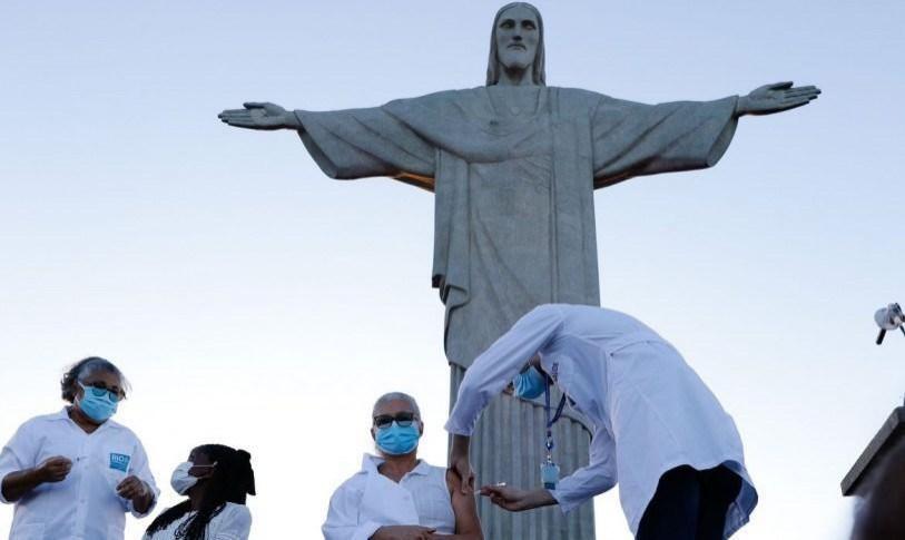 Início da vacinação contra Covid-19 no RIo
