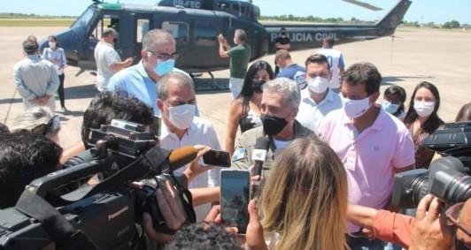 Vacina contra a Covid-19 chega a Campos (Fotos: Genilson Pessanha)