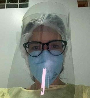 Cynthia Cordeiro, médica do CCCC