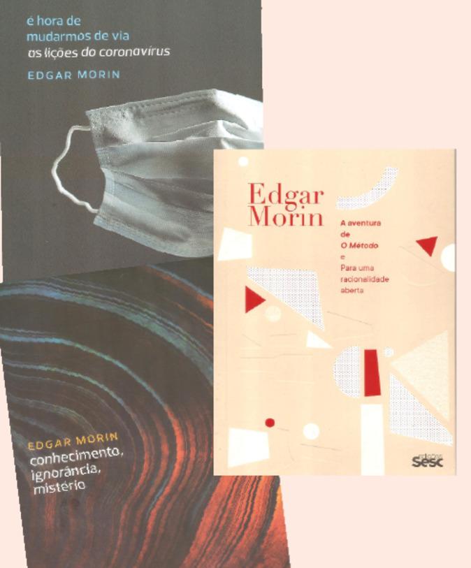Livros recentes de Edgar Morin