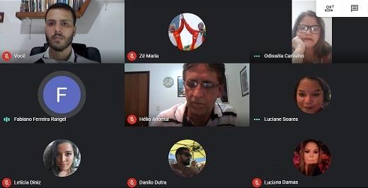 Reunião virtual DM PT Campos