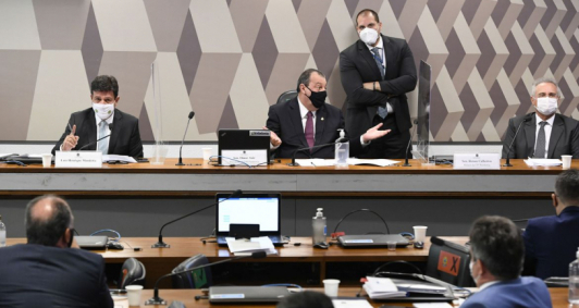 CPI da Pandemia realiza oitiva do ex-ministro Mandetta