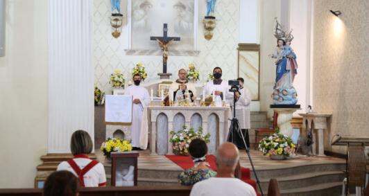 Celebração de Corpus Christi (Fotos: Rodrigo Silveira)