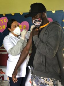Quilombolas recebem 2ª dose da vacina