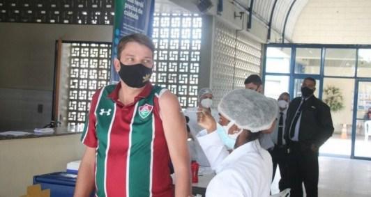 Rodoviários recebem vacina contra Covid-19
