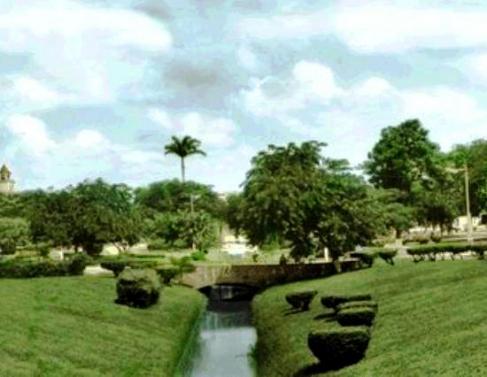 Jardim de Alah, quando o verde ainda predominava